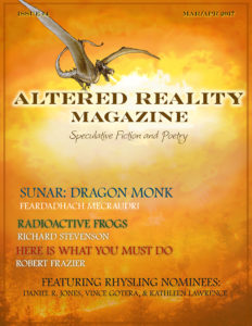 Altered Reality Magazine issue 4 cover