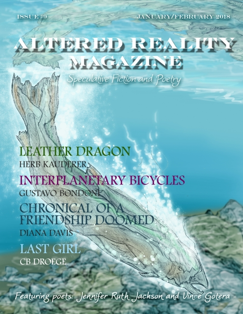 Altered Reality Magazine Issue 9 cover