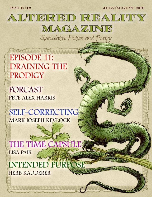 Altered Reality Magazine Issue 12 cover