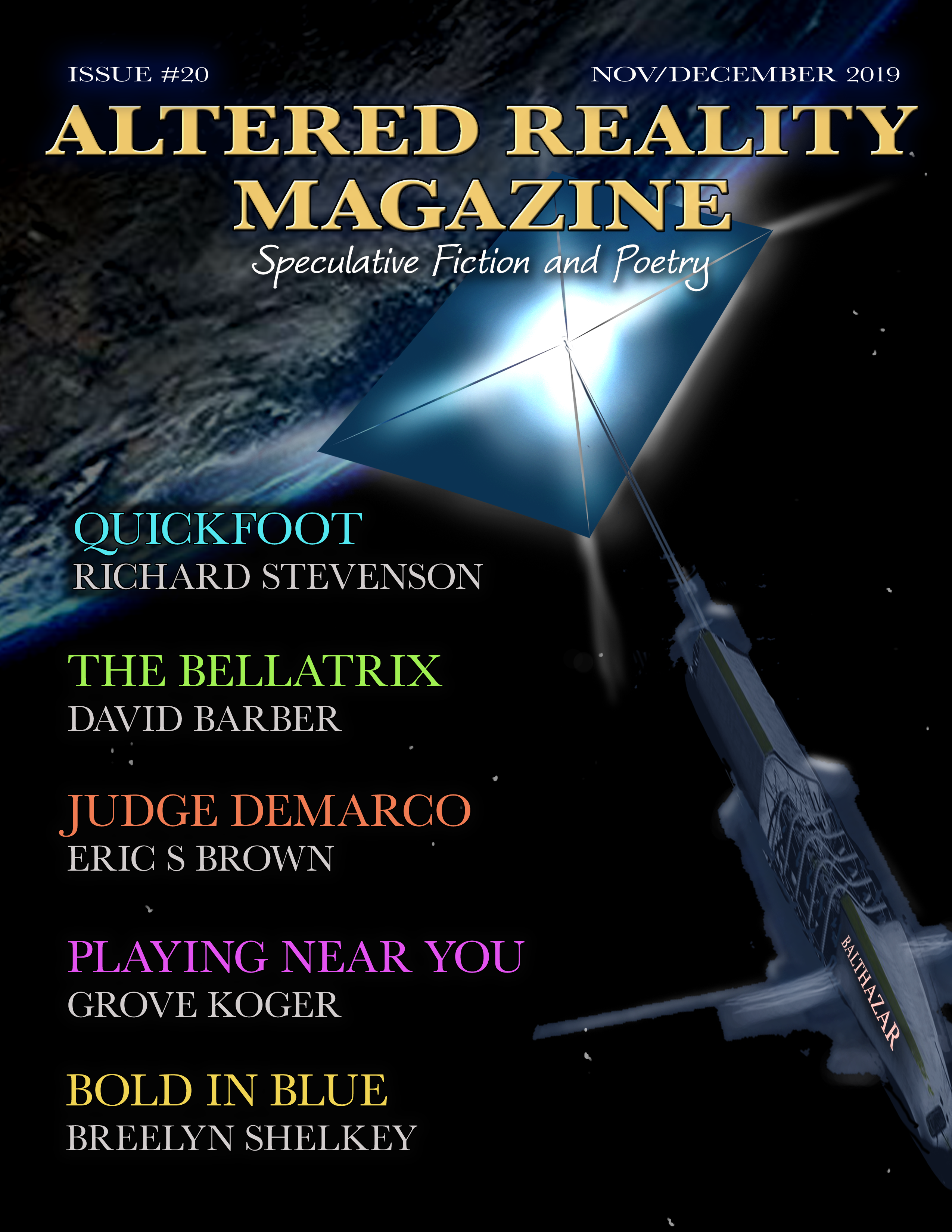 Cover art for Altered Reality Magazine