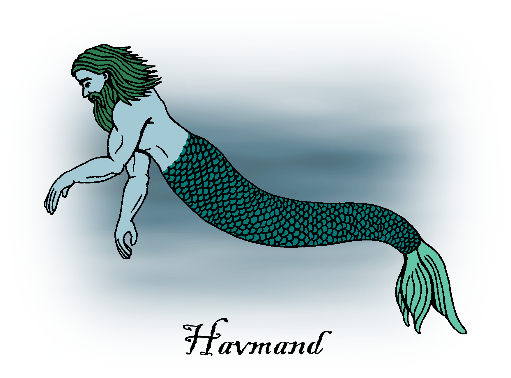 Merfolk: Sea People of Folklore and Legend by Richard H. Fay 3
