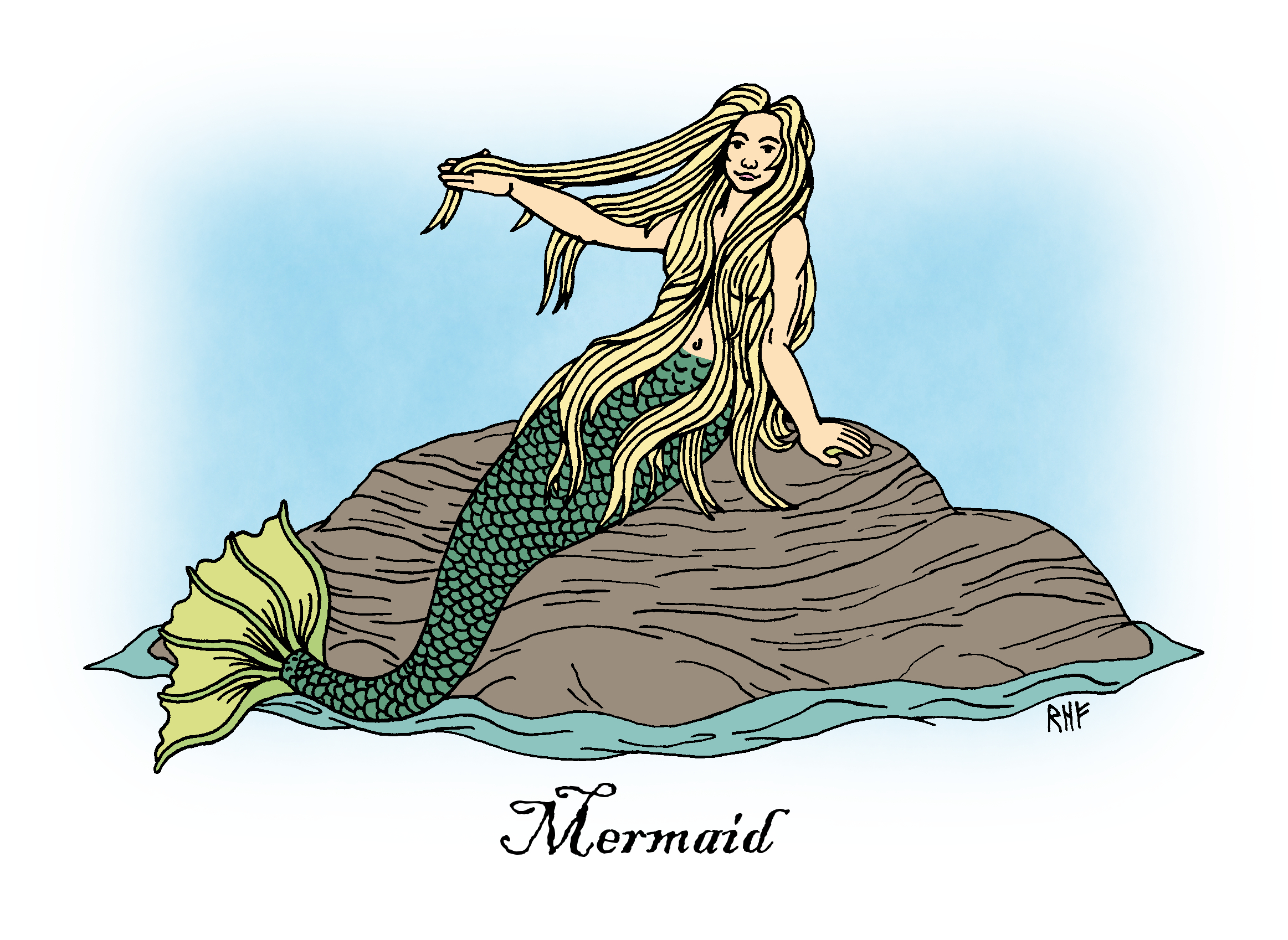 Merfolk: Sea People of Folklore and Legend by Richard H. Fay 6