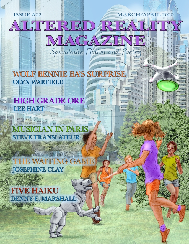 Cover of Altered Reality Magazine March/April 2020