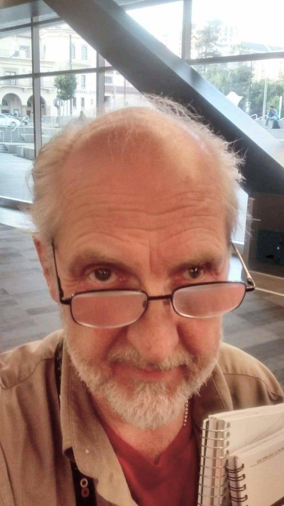 Poet John Phillip Johnson